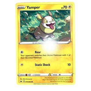 🆕 Pokémon Card Yamper 73/202 Common Basic Collect